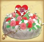 Сердце в Розах ~~ (от 3 кг)